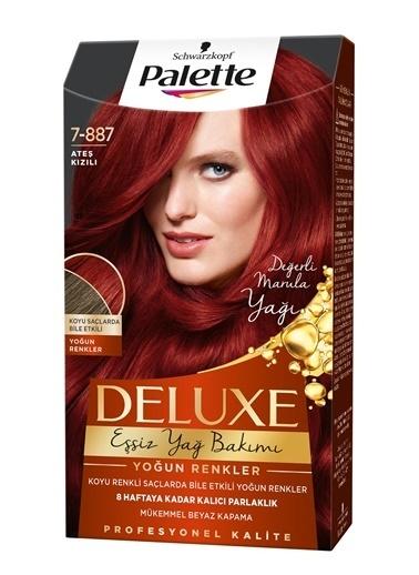 Palette Palette Deluxe Yoğun Renkler 7-887 Ateş Kızılı Renkli